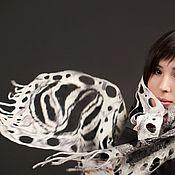 """Аксессуары ручной работы. Ярмарка Мастеров - ручная работа шарф """"касание ветра"""". Handmade."""