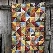 """Для дома и интерьера ручной работы. Ярмарка Мастеров - ручная работа Маленькое лоскутное одеяло """" Июль"""". Handmade."""