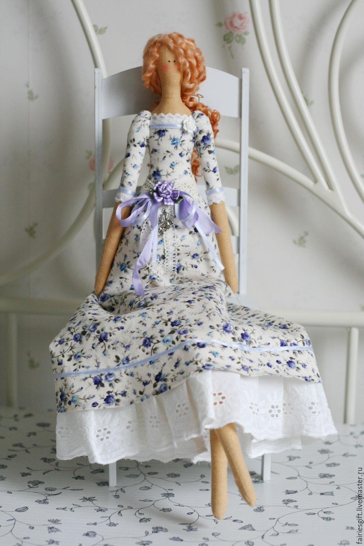 Текстильная кукла Василиса, Тильда Зверята, Москва,  Фото №1