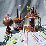 Материалы для творчества handmade. Livemaster - original item A set of organizers for needlework.. Handmade.