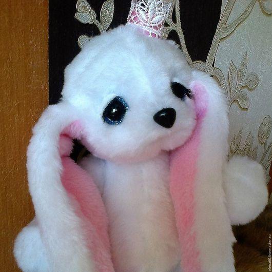 Мишки Тедди ручной работы. Ярмарка Мастеров - ручная работа. Купить Заинька Моя Принцесса. Handmade. Белый, мягкая игрушка