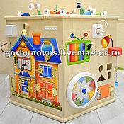 Куклы и игрушки handmade. Livemaster - original item Busybody: Educational Playground-HEXAGON 7in1 PREMIUM. Handmade.