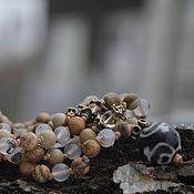 Фен-шуй и эзотерика handmade. Livemaster - original item Creative energy. world. calm - a rosary of 108 beads for mantra. Handmade.