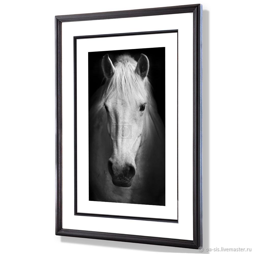 Белая лошадь, Картины, Москва,  Фото №1