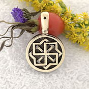 Русский стиль handmade. Livemaster - original item Molvinets,Slavic amulets amulets in bronze. Handmade.