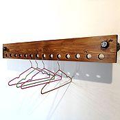 Для дома и интерьера handmade. Livemaster - original item Wall hanger for dressing room or hallway. Handmade.