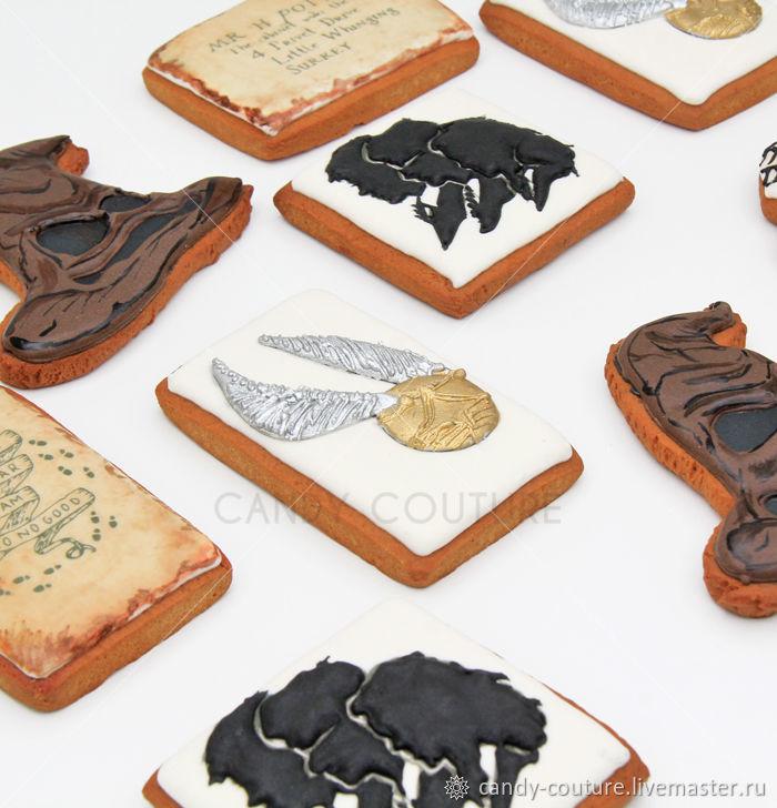Имбирные пряники в стиле Гарри Поттер – заказать на Ярмарке Мастеров – K6QC8RU   Набор пряников, Москва