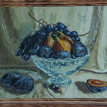 """Картины и панно ручной работы. Ярмарка Мастеров - ручная работа Картины: """"Фруктовый рай"""". Handmade."""