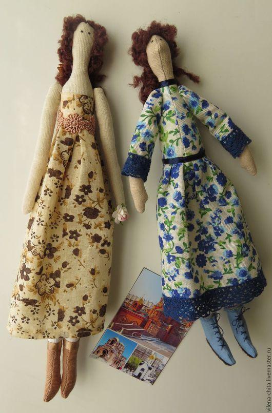 Кукла-магнитик в стиле `тильда`.