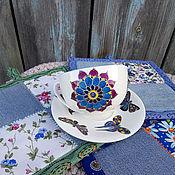 Для дома и интерьера handmade. Livemaster - original item Set of potholders tea pair. Handmade.