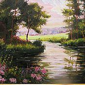 Картины и панно handmade. Livemaster - original item Rose garden. Handmade.