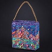 handmade. Livemaster - original item Bag of raffia As the inspiration comes. Handmade.