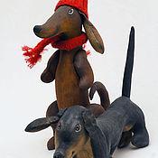 Подарки к праздникам handmade. Livemaster - original item Dachshund. Available without caps.. Handmade.