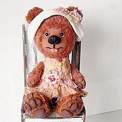 """Куклы и игрушки ручной работы. Ярмарка Мастеров - ручная работа Мишка-девочка"""" Машутка"""". Handmade."""