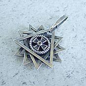 Фен-шуй и эзотерика handmade. Livemaster - original item Star Artgame with chrysolite. Bilateral. Handmade.