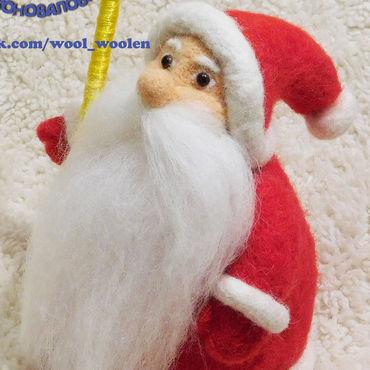 Для дома и интерьера ручной работы. Ярмарка Мастеров - ручная работа Дед Мороз. Handmade.