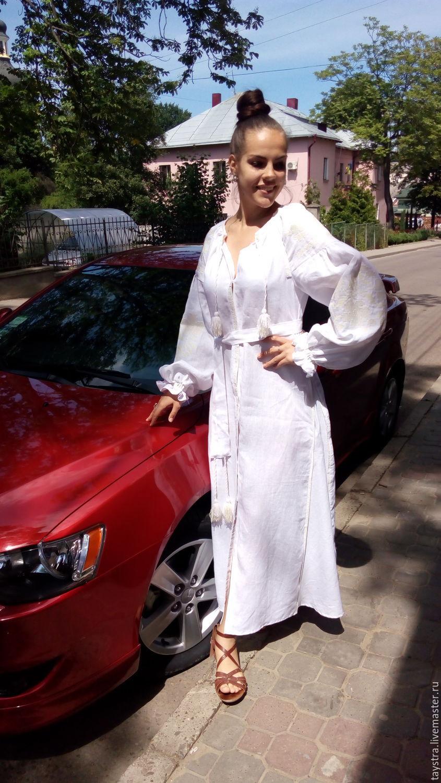 Свадебное платье вышитое в Бохо-стиле 7ad8254b1271d
