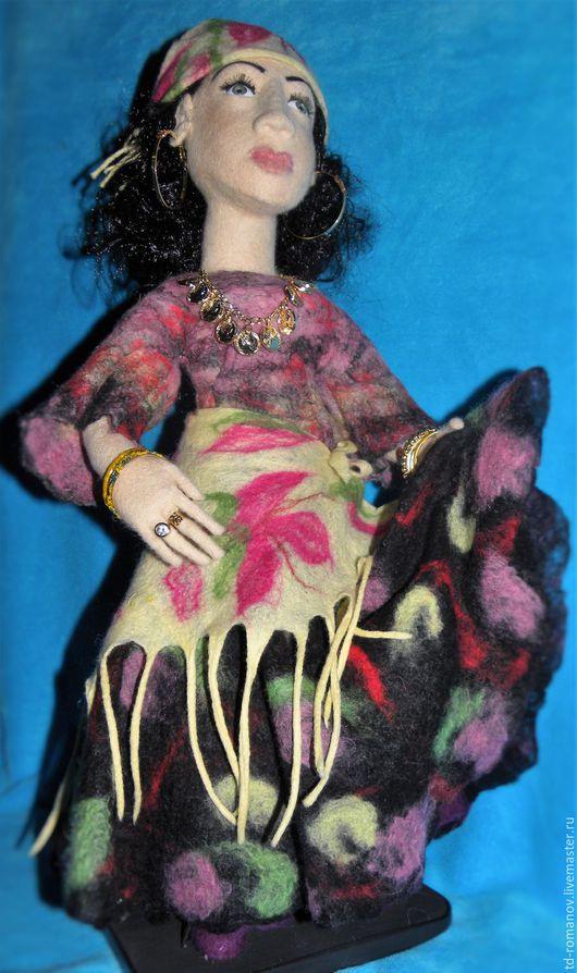 Коллекционные куклы ручной работы. Ярмарка Мастеров - ручная работа. Купить Интерьерная кукла. Handmade. Комбинированный, игрушка ручной работы