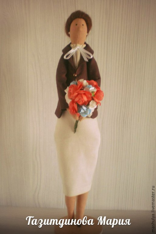 Куклы Тильды ручной работы. Ярмарка Мастеров - ручная работа. Купить Тильда учительница. Handmade. Тильда кукла, учителю, полубусины