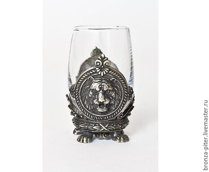 Stack (glass) bronze, Shot Glasses, St. Petersburg,  Фото №1