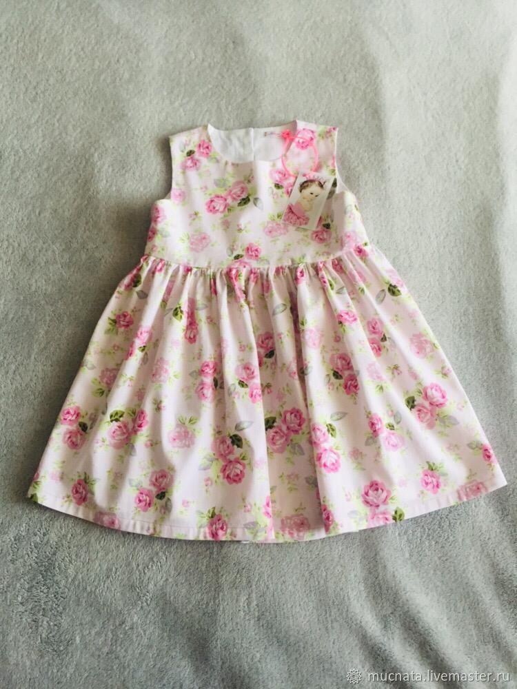 Летнее платье для девочки, Платья, Выборг, Фото №1