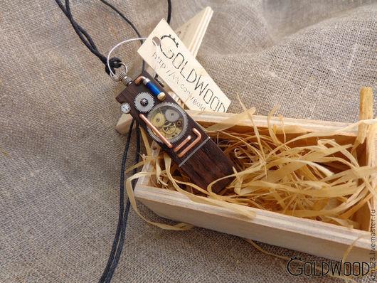 """Компьютерные ручной работы. Ярмарка Мастеров - ручная работа. Купить Флешка """"Механика"""" 16гб. Handmade. Золотой, steampunk, металл, часы"""