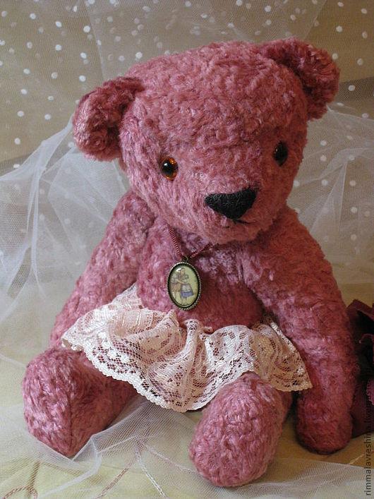 Мишки Тедди ручной работы. Ярмарка Мастеров - ручная работа. Купить Мишка-тедди Соня. Handmade. Розовый, подарок