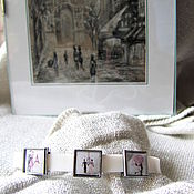 Украшения handmade. Livemaster - original item Bracelets original paintings. Handmade.