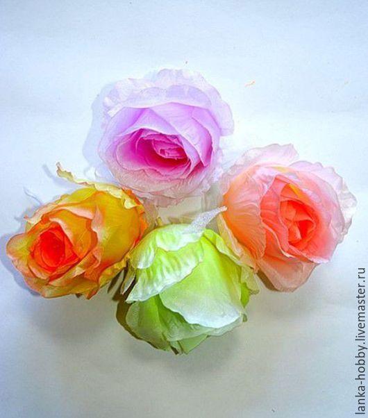 Роза парковая (головка) - образец Высота 9 см. Цена указана за 1 шт.