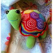 Куклы и игрушки ручной работы. Ярмарка Мастеров - ручная работа Радужная черепашка. Handmade.