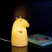 Для дома и интерьера ручной работы. Ярмарка Мастеров - ручная работа Светильник войлочный Сказочный Тапир. Handmade.