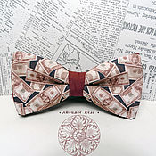 Аксессуары handmade. Livemaster - original item Bow Tie Dollars / Bucks / Money / a lot of money. Handmade.