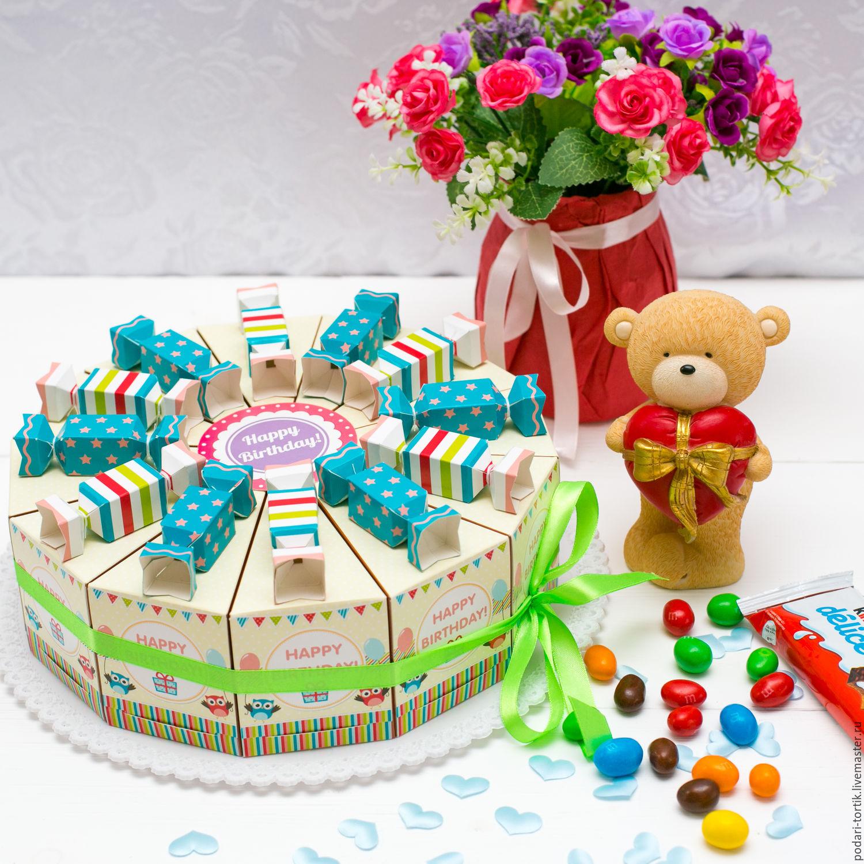 Коробочка сюрприз на день рождения