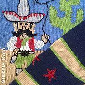 Одежда handmade. Livemaster - original item Mexican women`s jumper, drawing, intarsia, embroidery, Merino wool. Handmade.