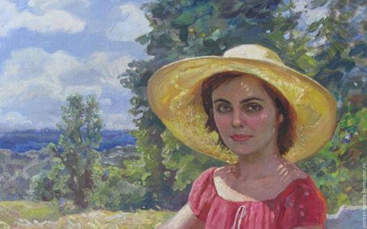 Фрагмент портрета, портрет большой и здесь представлен не полностью