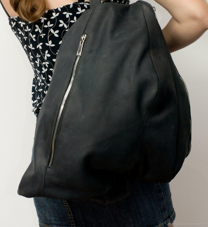 Бесформенный черный рюкзак, Black Abyss, Рюкзаки, Ставрополь, Фото №1