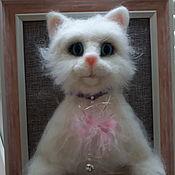 Картины ручной работы. Ярмарка Мастеров - ручная работа Картины: котик. Handmade.