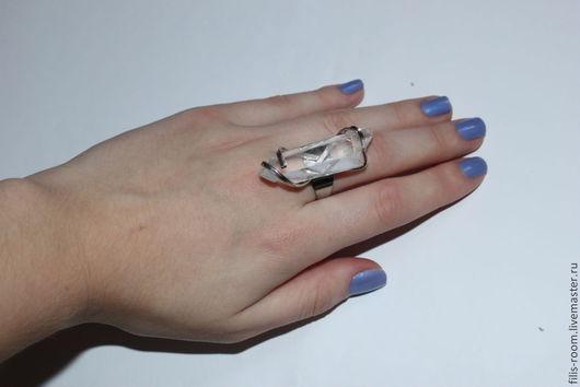 Кольца ручной работы. Ярмарка Мастеров - ручная работа. Купить кольца-кристаллы. Handmade. Белый, кристалл, кольцо с камнем