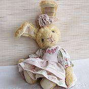 """Куклы и игрушки ручной работы. Ярмарка Мастеров - ручная работа Зайка """"Анечка"""". Handmade."""