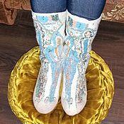 Обувь ручной работы. Ярмарка Мастеров - ручная работа Носки валяные.. Handmade.