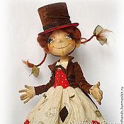 Куклы и игрушки ручной работы. Ярмарка Мастеров - ручная работа Пеппи в шапито. Коллекционная кукла. Handmade.
