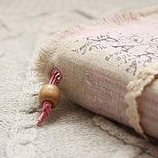 Канцелярские товары ручной работы. Ярмарка Мастеров - ручная работа Софтбук в стиле шебби-шик. Handmade.
