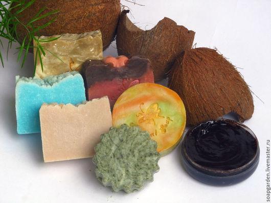 """Подарочные наборы косметики ручной работы. Ярмарка Мастеров - ручная работа. Купить Набор мыла """"Морское путешествие"""", соляное, тропическое. Handmade."""