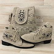 Обувь ручной работы handmade. Livemaster - original item Summer shoes and bag ( complete set). Handmade.