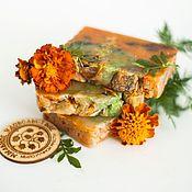 Косметика ручной работы handmade. Livemaster - original item Handmade natural Autumn Soap Velvet Autumn red. Handmade.