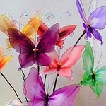 Материалы для цветов из капрона - Ярмарка Мастеров - ручная работа, handmade