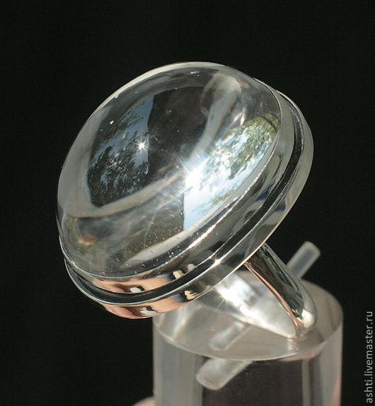 Кольца ручной работы. Ярмарка Мастеров - ручная работа. Купить Кольцо с кварцем 460. Handmade. Украшения, кварц, натуральные камни