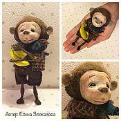 """Куклы и игрушки ручной работы. Ярмарка Мастеров - ручная работа обезьянка """"Тебе и мне"""". Handmade."""