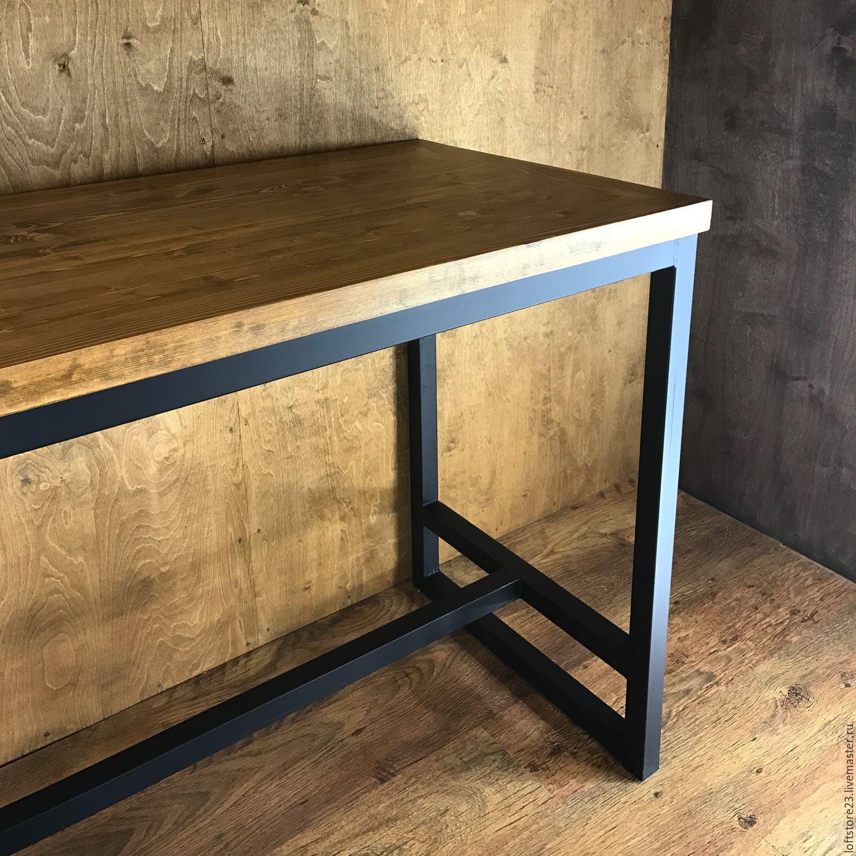 Как сделать стол из металлического профиля своими руками 89