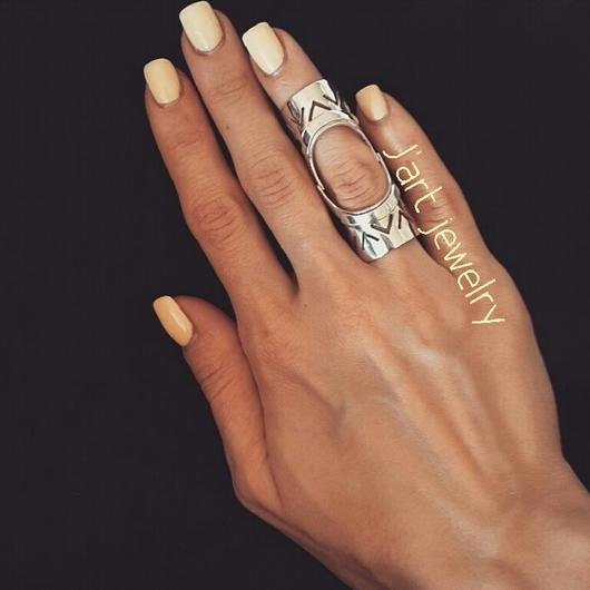 """Кольца ручной работы. Ярмарка Мастеров - ручная работа. Купить Кольцо """"Арабика new"""" в светлом серебре. Handmade. Кольцо жади"""